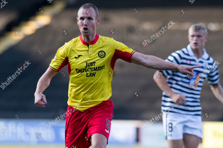 Queens Park V Partick Thistle, Befred Cup. Partick?s Kenny Miller