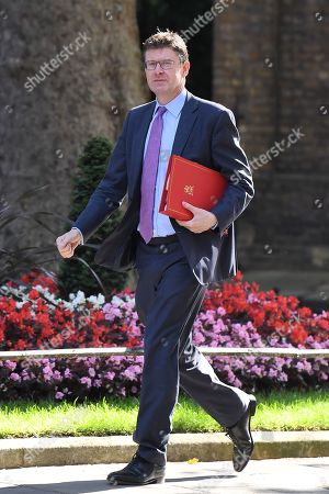Greg Clark, Secretary of State for Business, Energy and Industrial Strategy, arrives at No.10 Downing Street for a cabinet meeting.