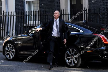 David Lidington, Minister for the Cabinet Office, arrives at No.10 Downing Street for a cabinet meeting.