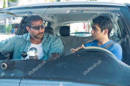 Dave Bautista as Vic Manning and Kumail Nanjiani as Stu
