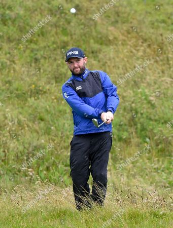 Andy Sullivan on the 12th green