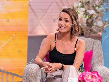 Editorial image of 'Lorraine' TV show, London, UK - 16 Jul 2019