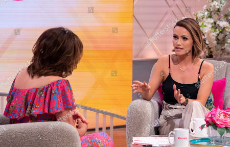 Editorial picture of 'Lorraine' TV show, London, UK - 16 Jul 2019