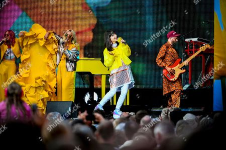Editorial photo of Laleh in concert, Oland, Sweden - 13 Jul 2019
