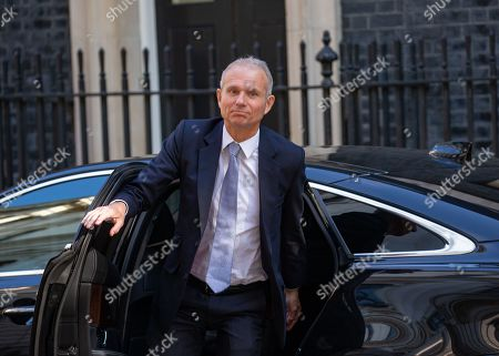 David Lidington, Chancellor of the Duchy of Lancaster, Minister for the Cabinet Office, arrives for the Cabinet meeting.