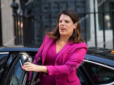 Caroline Nokes, Minister of State for Immigration, arrives for the Cabinet meeting.