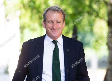 Damian Hinds, Secretary of State for Education, arrives for the Cabinet meeting.