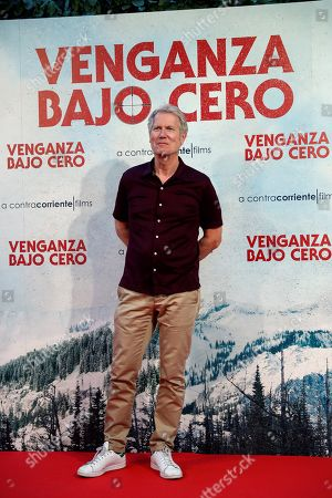 Hans Petter Moland poses for the photographers during the presentation of the movie Cold Pursuit in Madrid, Spain, 16 July 2019. The film under its Spanish title 'Venganza Bajo Cero' will be shown in Spanish cinemas from 26 July.