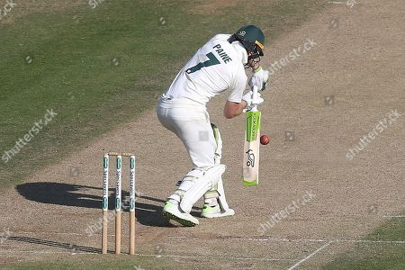 Tim Paine in batting action for Australia during England Lions vs Australia A, Domestic First Class Multi-Day Match Cricket at the St Lawrence Ground on 16th July 2019