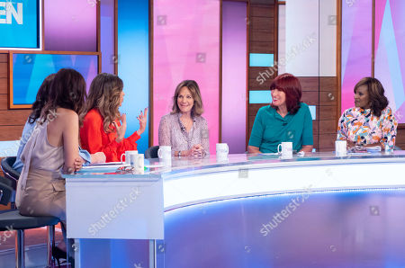 Andrea McLean, Coleen Nolan, Ayda Williams, Gwen Field, Kelle Bryan and Janet Street-Porter