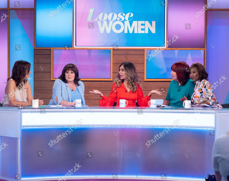 Andrea McLean, Coleen Nolan, Ayda Williams, Kelle Bryan and Janet Street-Porter