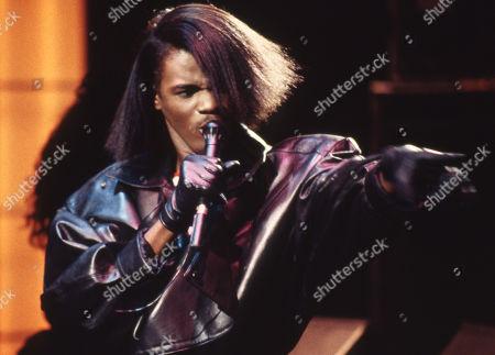 Jermaine Stewart performing