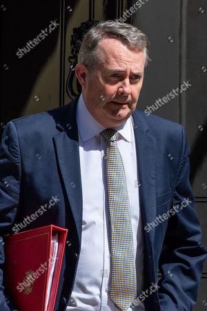British Secretary of State for International Trade Liam Fox