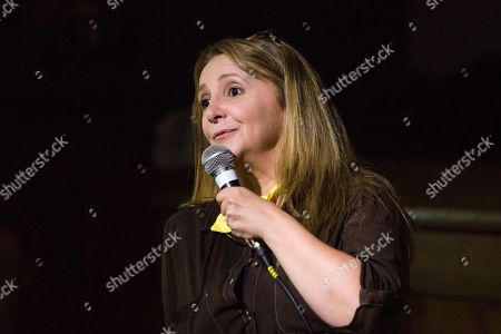Lucy Porter performs her show Be Prepared on day 1 of the festival