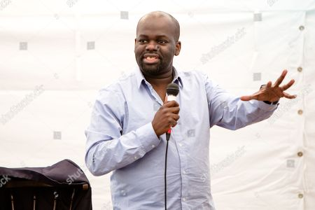 Stock Photo of Daliso Chaponda performs his show 'Blah Blah Blacklist' on day 2 of the festival