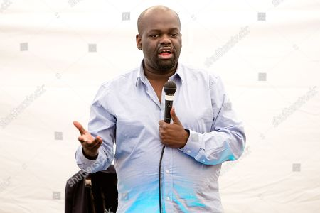 Daliso Chaponda performs his show 'Blah Blah Blacklist' on day 2 of the festival