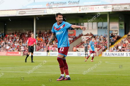 Adam Hammill Of Scunthorpe United during the Pre-Season Friendly match between Scunthorpe United and Leicester City at Glanford Park, Scunthorpe
