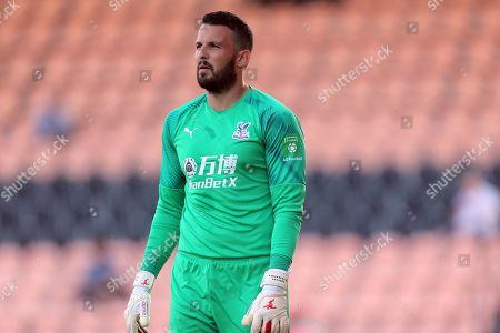 Stock Photo of Stephen Henderson of Crystal Palace  during Barnet vs Crystal Palace, Friendly Match Football at the Hive Stadium on 16th July 2019