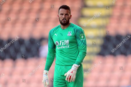 Stock Image of Stephen Henderson of Crystal Palace  during Barnet vs Crystal Palace, Friendly Match Football at the Hive Stadium on 16th July 2019
