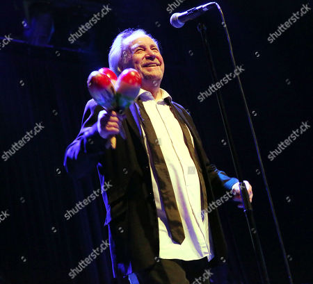 Stock Photo of The Pretty Things - Phil May during the 'Final Bow' concert