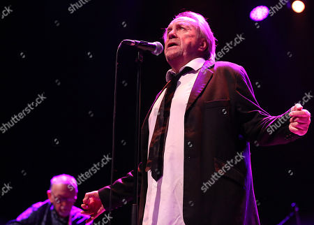 Stock Image of The Pretty Things - Dick Tyalor and Phil May during the 'Final Bow' concert
