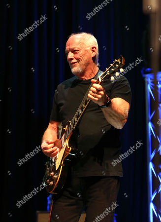 David Gilmour (Special Guest) during the 'Final Bow' concert