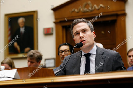 Stock Image of Google Director of Economic Policy Adam Cohen testifies during a House Judiciary subcommittee hearing, on Capitol Hill in Washington