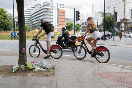 Editorial picture of Floral tributes to Emily Hartridge, London, UK - 13 Jul 2019