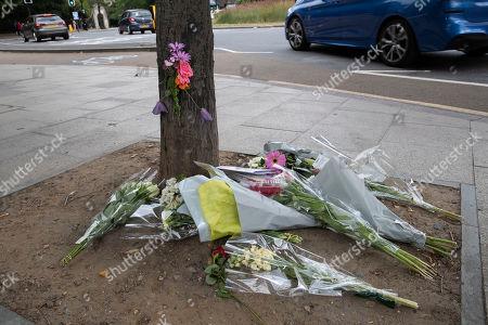 Editorial image of Floral tributes to Emily Hartridge, London, UK - 13 Jul 2019