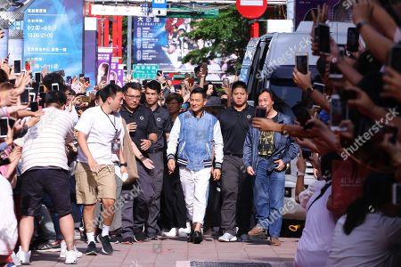 Andy Lau and director Herman Yau