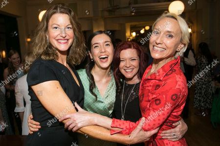 Anna Gunn (Maxine Faulk), Emma Canning (Charlotte Goodall), Finty Williams (Miss Fellowes) and Lia Williams (Hannah Jelkes)