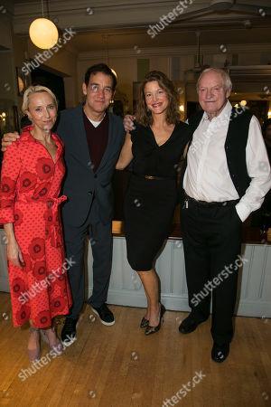 Lia Williams (Hannah Jelkes), Clive Owen (Reverend Shannon), Anna Gunn (Maxine Faulk) and Julian Glover (Nonno),