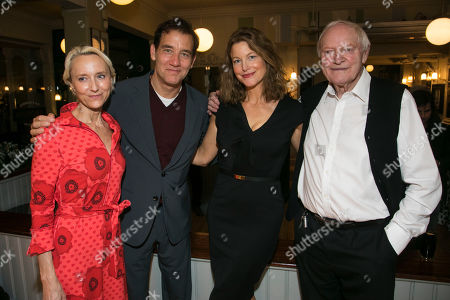 Stock Picture of Lia Williams (Hannah Jelkes), Clive Owen (Reverend Shannon), Anna Gunn (Maxine Faulk) and Julian Glover (Nonno),