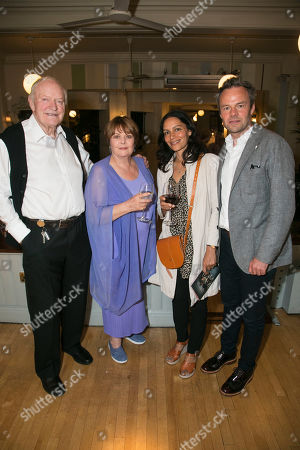 Stock Image of Julian Glover (Nonno), Isla Blair, Sasha Behar and Jamie Glover
