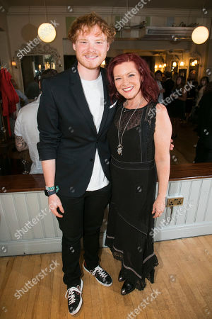 Sam Williams and Finty Williams (Miss Fellowes)