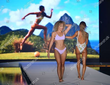 Editorial photo of Sports Illustrated Swimsuit show, Runway, Miami Swim Week, Florida, USA - 14 Jul 2019