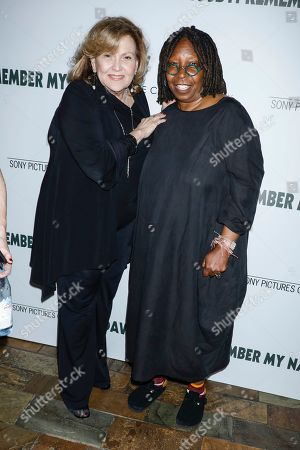Brenda Vaccaro and Whoopi Goldberg