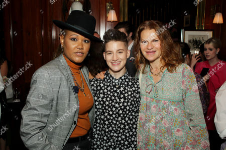Rahne Jones, Theo Germaine, Sandra Bernhard