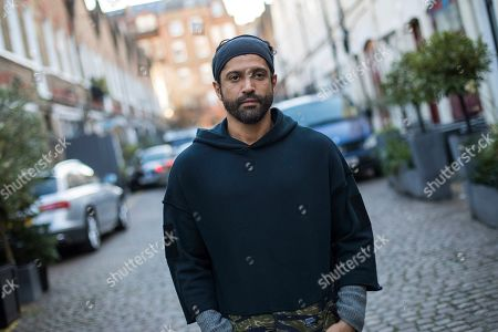 """Actor and U.N. """"He for She"""" Ambassador Farhan Akhtar poses for a portrait photograph in London. Farhan has expressed concern for the victims of sexual harrassment in Bollywood. The #MeToo movement in entertainment isn't just an American phenomenon. Cases across Asia show the region is grappling with many of the same issues that have upended entertainment careers in the U.S"""