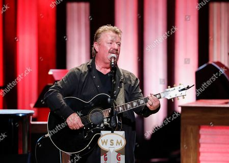 """Joe Diffie performs at """"Luke Combs Joins the Grand Ole Opry Family"""" at Grand Ole Opry on in Nashville, Tenn"""