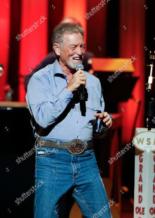 "Larry Gatlin performs at ""Luke Combs Joins the Grand Ole Opry Family"" at Grand Ole Opry on in Nashville, Tenn"