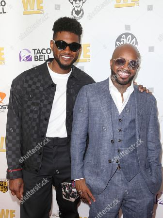 Usher and Jermaine Dupri