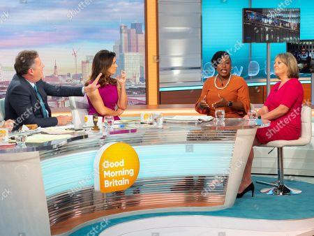 Editorial image of 'Good Morning Britain' TV show, London, UK - 17 Jul 2019