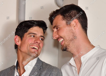 Alastair Cook and Steven Finn