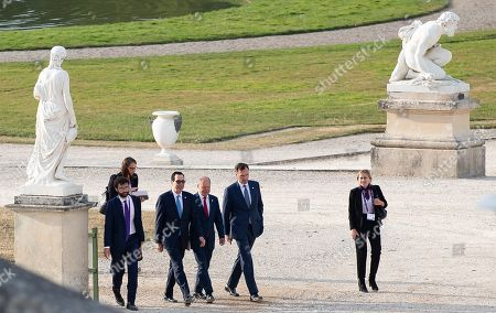 Editorial picture of G7 Finance Summit in Chantilly, France - 17 Jul 2019