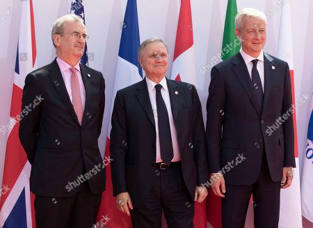 Editorial image of G7 Finance Summit in Chantilly, France - 17 Jul 2019