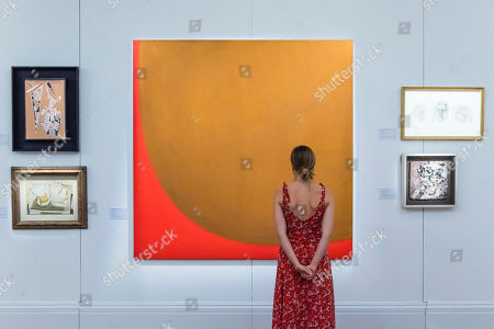 Editorial picture of 'Brave New Visions: The Emigres' exhibition, Sotheby's, London, UK - 17 Jul 2019