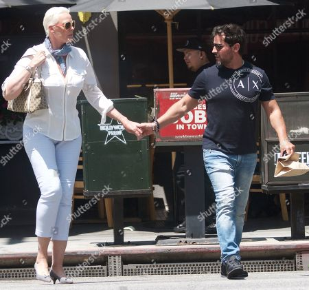 Editorial picture of Brigitte Nielsen out and about, Los Angeles, USA - 16 Jul 2019