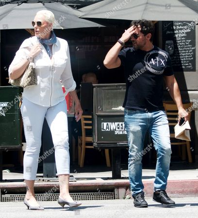 Editorial photo of Brigitte Nielsen out and about, Los Angeles, USA - 16 Jul 2019