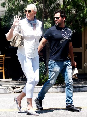 Editorial image of Brigitte Nielsen out and about, Los Angeles, USA - 16 Jul 2019